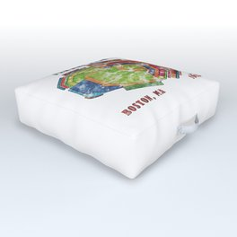 Fenway Park Baseball Stadium Outdoor Floor Cushion