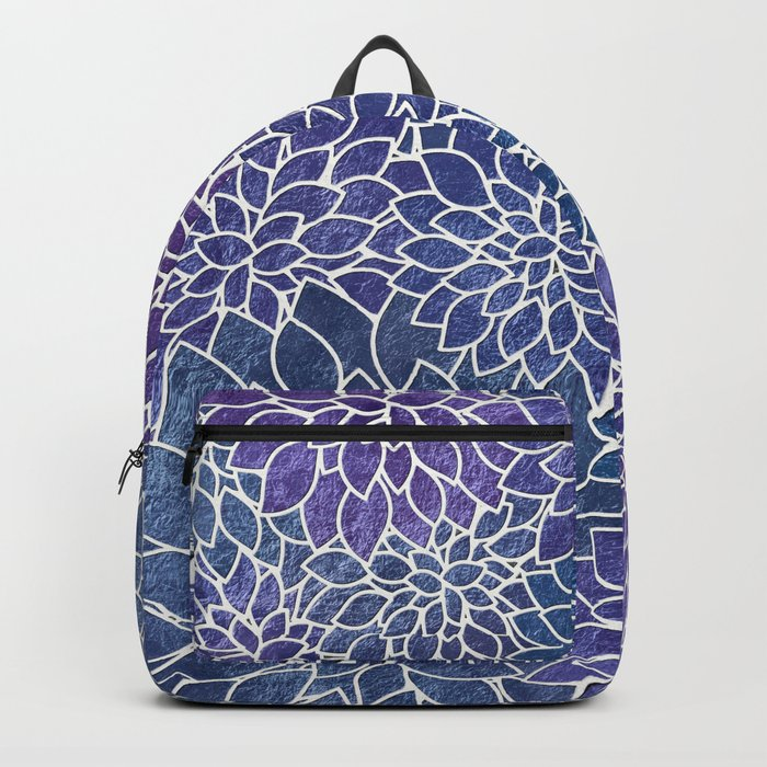 Floral Abstract 32 Backpack