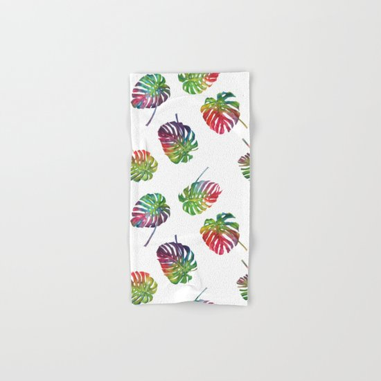 Tropical plant Hand & Bath Towel