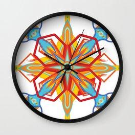 Kaleidescope Wall Clock