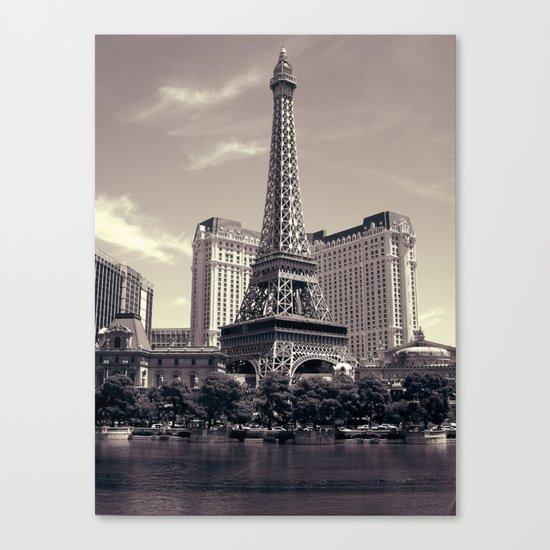 Paris, Vegas Canvas Print