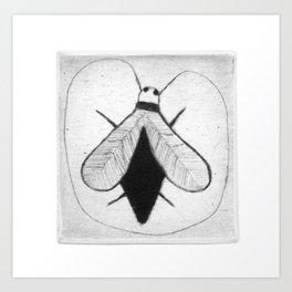 BZZ - strange fly Art Print