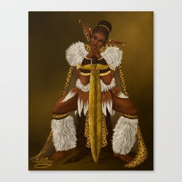 Zulu Elf Canvas Print