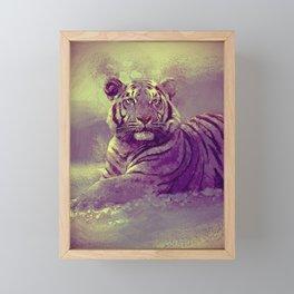 Tiger II Framed Mini Art Print