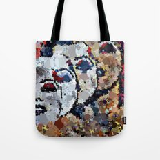 She's A Beautiful Mess Tote Bag