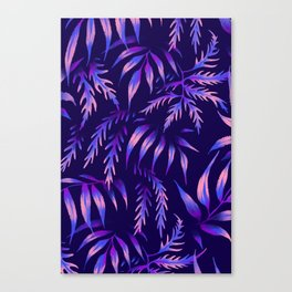 Brooklyn Forest - Purple Canvas Print