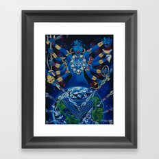 Kali Awakens Framed Art Print