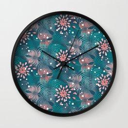 Tropical Wall Clock