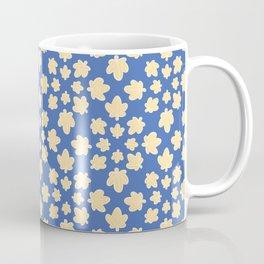 Star Shaped Leaf Sky Pattern Coffee Mug