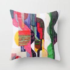 Collage I Throw Pillow