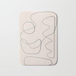 Abstract Line III Bath Mat