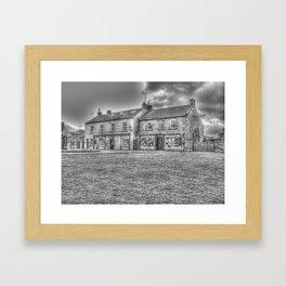 Goathland Shops Framed Art Print