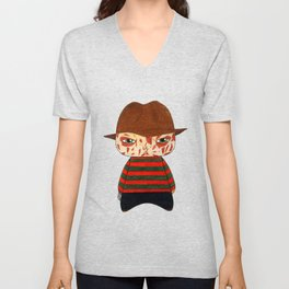 A Boy - Freddy Krueger Unisex V-Neck