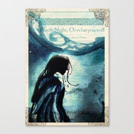Twelfth Night Viola Canvas Print