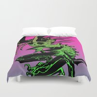demon Duvet Covers featuring DEMON by ASHES