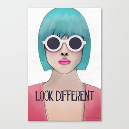 Look different  Canvas Print