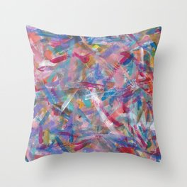 Art Studio Experimentation Throw Pillow