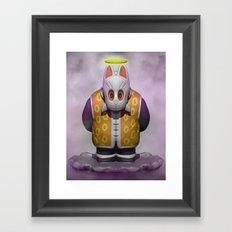 Grandpa Gohan Framed Art Print