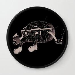 brain smoking Wall Clock