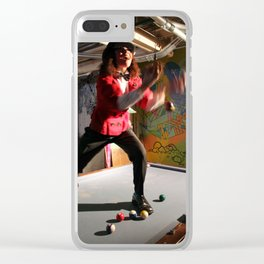 I want to be the entertainer Clear iPhone Case