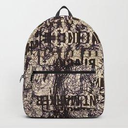 Black Int Marker Backpack