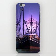 Fishing Boat in the Morning iPhone & iPod Skin