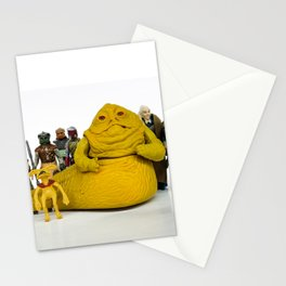 Jabba & The Crew Stationery Cards