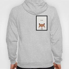 Cute hand drawn fox design Hoody