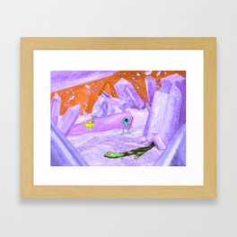 Finally, everything is.... shining??? Framed Art Print