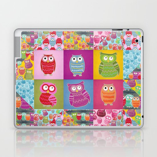 Bright Owls Laptop & iPad Skin