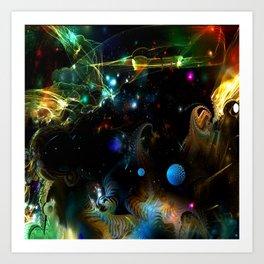 Cosmic 32 Art Print