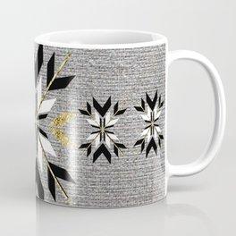 Art Deco Fair Isle Coffee Mug
