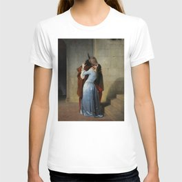 The Kiss (Il Bacio) - Francesco Hayez 1859 T-shirt