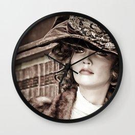 Victorian Mannequin Wall Clock