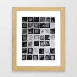 42 Squares Framed Art Print