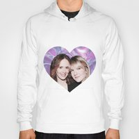 sarah paulson Hoodies featuring Sarah Paulson and Lily Rabe AHS Freakshow by IrasHorrorStory