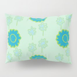 Handbag Heaven Blues - details Pillow Sham