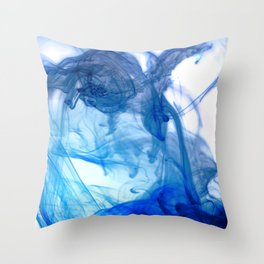 Dancing Ink, February Throw Pillow