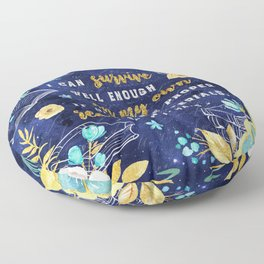 I can survive Floor Pillow