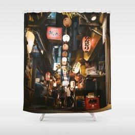 Omoide Yokocho. Shower Curtain