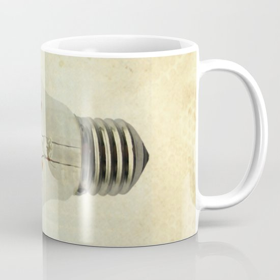 blue sea thinking Mug