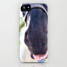 Horse Tongue iPhone Case