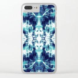 Celestial Nouveau Tie-Dye Clear iPhone Case