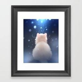 Winter is... Framed Art Print