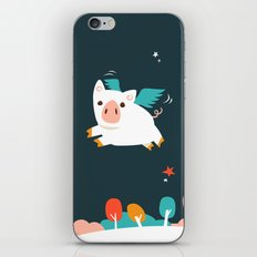 When Pigs Fly iPhone Skin