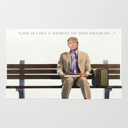 Forrest Gump Parody Of Donald Trump Rug