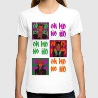haikyuu T-shirts featuring OHOHOHO (Bokuto ver) by Fira
