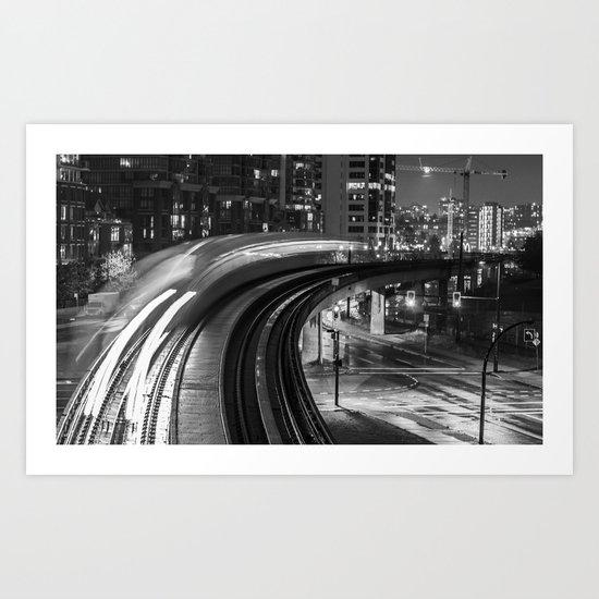 Skytrain  Art Print
