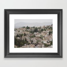 Granada, Spain Framed Art Print
