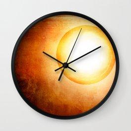 The Cosmic Sun Wall Clock